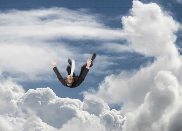 Caindo da Nuvem