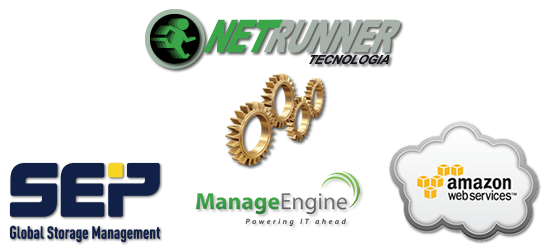 Netrunner Tecnologia x SEP Software x ManageEngine x Amazon AWS