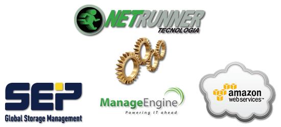 Netrunner Tecnologia x SEP Software x ManageEngine x Amazon AWS